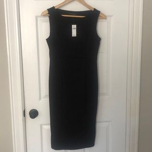 Black Banana Republic Midi Dress